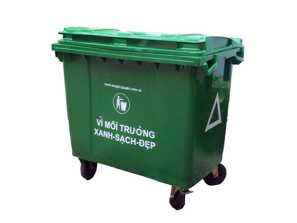 Cung cấp thùng rác lớn 660 lít